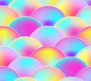 Teste padrão sem emenda do vetor, cores do arco-íris, fundo da escala ilustração do vetor