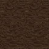 Teste padrão sem emenda do vetor da textura do marrom da casca de árvore Fotografia de Stock