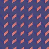 Teste padrão sem emenda do vetor da viga Fundo colorido do ziguezague Imagens de Stock