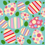 Teste padrão sem emenda do vetor de Easter Fotos de Stock Royalty Free