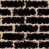 Teste padrão sem emenda do vetor de Grunge Fotografia de Stock