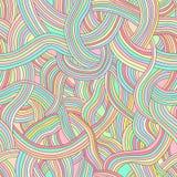 Teste padrão sem emenda do vetor de tiras coloridas do rainb liso, feericamente ilustração stock