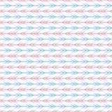 Teste padrão sem emenda do vetor diferente retro pastel ilustração do vetor