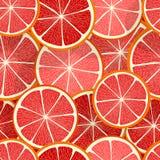Teste padrão sem emenda do vetor do citrino ilustração do vetor