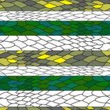 Teste padrão sem emenda do vetor do réptil Rabiscar a textura para a cópia, decoração home, projeto da tela da forma ilustração do vetor