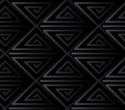 Teste padrão sem emenda do vetor do triângulo Fotografia de Stock Royalty Free