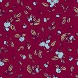 Teste padrão sem emenda do vetor floral Foto de Stock Royalty Free