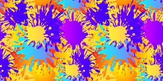 Teste padrão sem emenda do vetor, formas abstratas líquidas, fundo de pintura ilustração do vetor