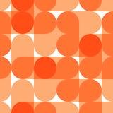 Teste padrão sem emenda do vetor geométrico Imagens de Stock