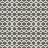 Teste padrão sem emenda do vetor do hexágono abstrato ilustração stock