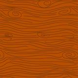 Teste padrão sem emenda do vetor marrom de madeira da textura Foto de Stock