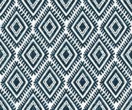 Teste padrão sem emenda do vetor mexicano tribal do ornamento Fotos de Stock