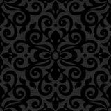 Teste padrão sem emenda do vetor no estilo vitoriano ilustração royalty free