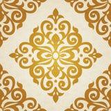 Teste padrão sem emenda do vetor no estilo vitoriano Imagem de Stock Royalty Free