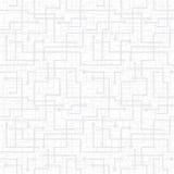 Teste padrão sem emenda do vetor - schem do circuito eletrônico Fotografia de Stock