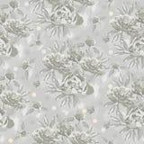 Teste padrão sem emenda do vintage com ornamento floral Fotografia de Stock Royalty Free