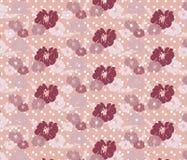 Teste padrão sem emenda do vintage das rosas Ilustração Stock