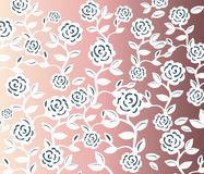 Teste padrão sem emenda do vintage das rosas Fotos de Stock Royalty Free