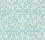 Teste padrão sem emenda do vintage floral claro ilustração stock