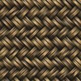 Teste padrão sem emenda do Weave de sarja da cesta da quadriculação Foto de Stock Royalty Free