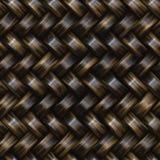 Teste padrão sem emenda do Weave de sarja da cesta da quadriculação Fotografia de Stock