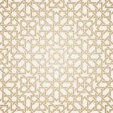 Teste padrão sem emenda do weave no estilo oriental Imagens de Stock