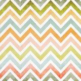 Teste padrão sem emenda do ziguezague colorido Imagens de Stock Royalty Free