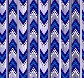 Teste padrão sem emenda do ziguezague tribal ilustração stock