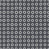 Teste padrão sem emenda dos anéis da forma irregular Imagens de Stock Royalty Free