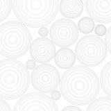 Teste padrão sem emenda dos círculos geométricos Fotografia de Stock Royalty Free