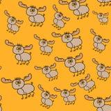 Teste padrão sem emenda dos cervos Imagem de Stock Royalty Free