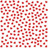 Teste padrão sem emenda dos corações Foto de Stock Royalty Free