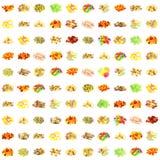 Teste padrão sem emenda dos doces Imagens de Stock Royalty Free