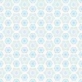 Teste padrão sem emenda dos flocos de neve Imagens de Stock Royalty Free