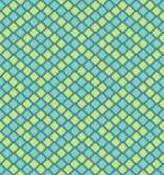 Teste padrão sem emenda dos polígono do pixel do vetor Imagens de Stock Royalty Free