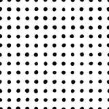 Teste padrão sem emenda dos pontos da forma irregular Foto de Stock