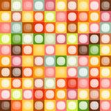 Teste padrão sem emenda dos quadrados Foto de Stock Royalty Free