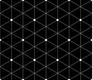 Teste padrão sem emenda dos triângulos e dos hexágonos Fotografia de Stock