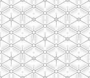 Teste padrão sem emenda dos triângulos e dos hexágonos Foto de Stock Royalty Free