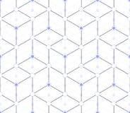 Teste padrão sem emenda dos triângulos e dos rombos Imagem de Stock Royalty Free