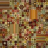 Teste padrão sem emenda Elementos decorativos do vintage Fundo tirado mão Islã, árabe, indiano, motivos do otomano Fotos de Stock