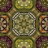 Teste padrão sem emenda Elementos decorativos do vintage Fundo tirado mão Islã, árabe, indiano, motivos do otomano Aperfeiçoe imp Imagem de Stock