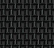 Teste padrão sem emenda escuro dos cubos ilustração royalty free
