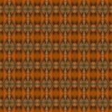 Teste padrão sem emenda feito da grande borboleta alaranjada colorida w da ponta Fotos de Stock Royalty Free