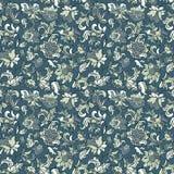 Teste padrão sem emenda floral étnico Fotografia de Stock Royalty Free