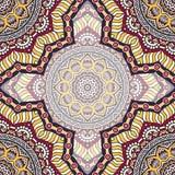 Teste padrão sem emenda floral étnico Fotos de Stock Royalty Free