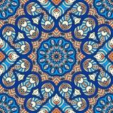 Teste padrão sem emenda floral étnico Imagem de Stock Royalty Free