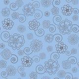 Teste padrão sem emenda floral Fotos de Stock