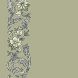 Teste padrão sem emenda floral Fotografia de Stock