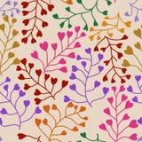 Teste padrão sem emenda floral. Imagens de Stock